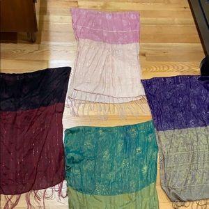 Accessories - Beautiful Unique 100% Silk Scarfs